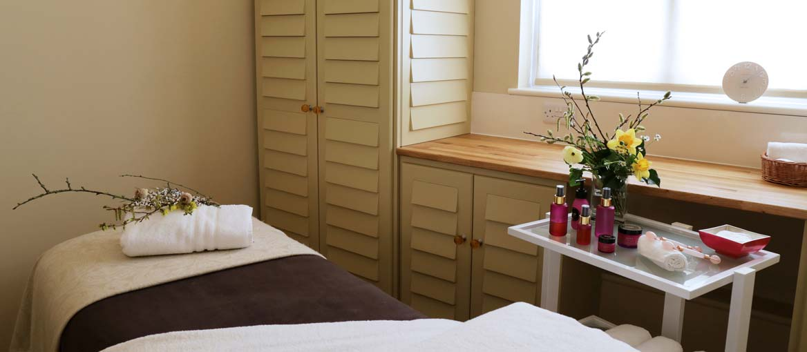 Day Spa Room at Jordans Courtyard near Ilminster, Somerset